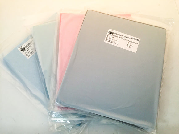 3M Polishing Paper Wet or Dry Sheets - Individual Sheets