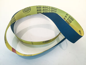 Hermes RB 406 2x72 Belts (BLUE BELT)