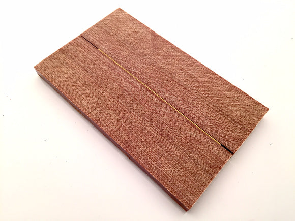 Crosscut Natural Canvas Micarta Scales