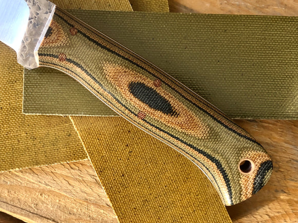 Woodland Cam Double Layer Micarta