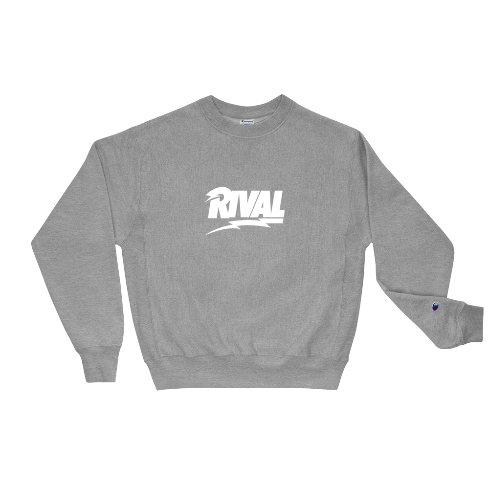 Rival Bolt Logo Champion Crewneck