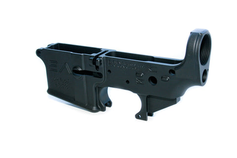 AR-15 STRIPPED LOWER FORGED RECEIVER