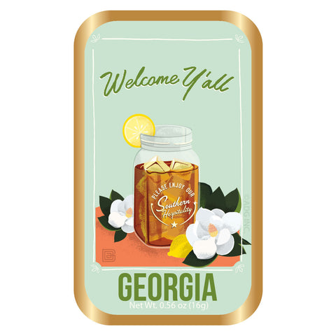 Welcome Y'All Georgia - 0001A