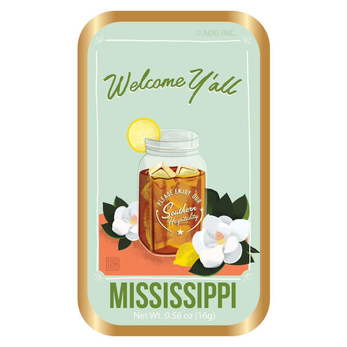 Welcomer Y'all Mississippi - 0001A