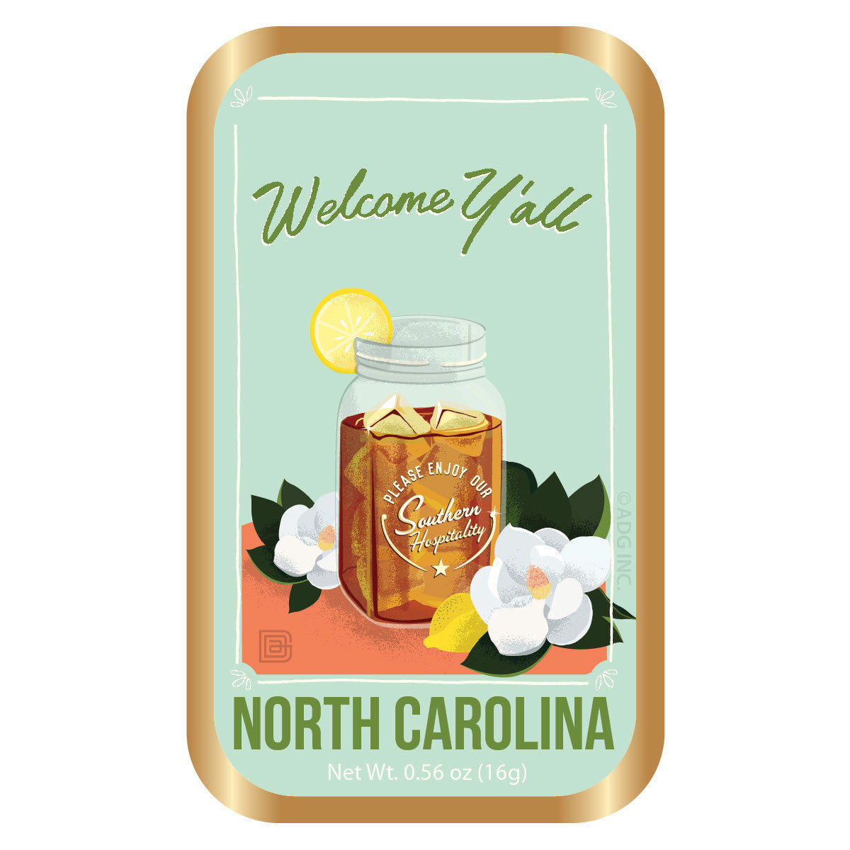 Welcome Y'All North Carolina - 0001A