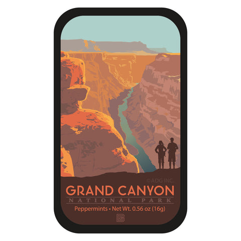 Grand Canyon Hikers - 0006A