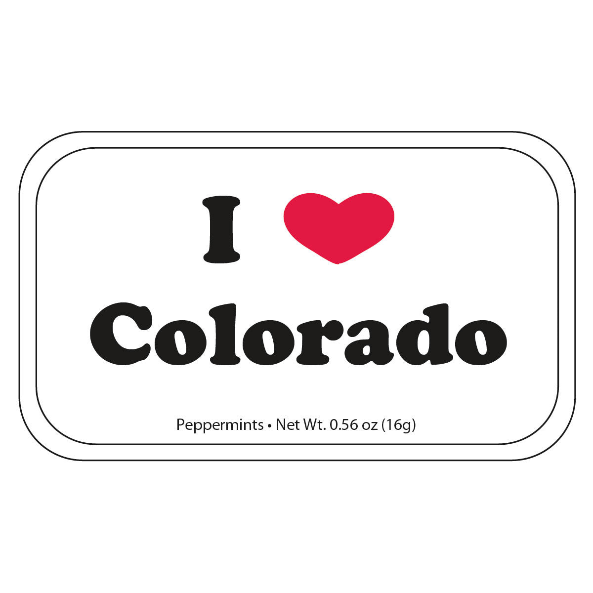 I Heart Colorado - 0025S