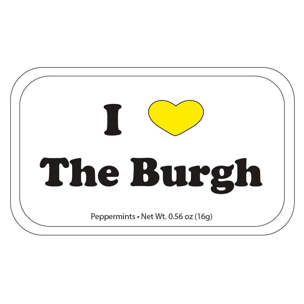I Heart The Burgh - 0025S