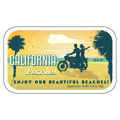Motorcycle Beach California - 0037A