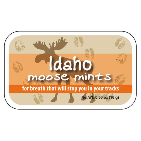 Moose Tracks Idaho - 0040S