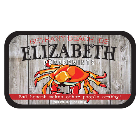 Red Crab Woodgrain Delaware - 0041ND