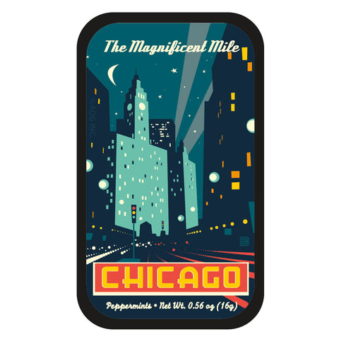 Chicago Deco Magnificat Mile - 0088A