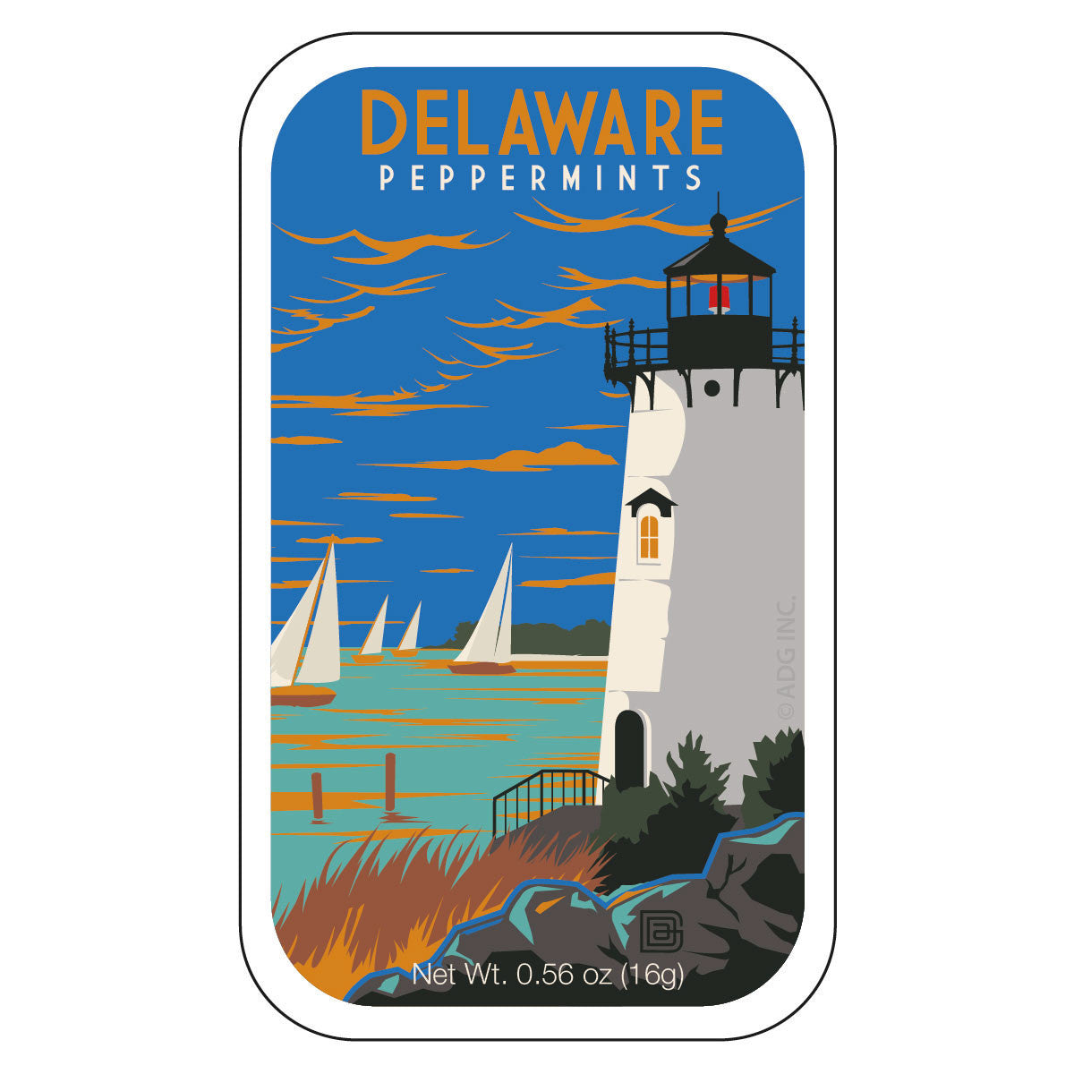 Lighthouse Delaware - 0103A