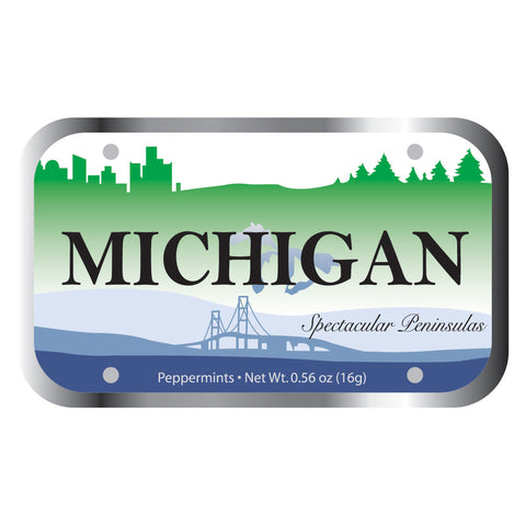 Michigan Lic Plt - 0108S