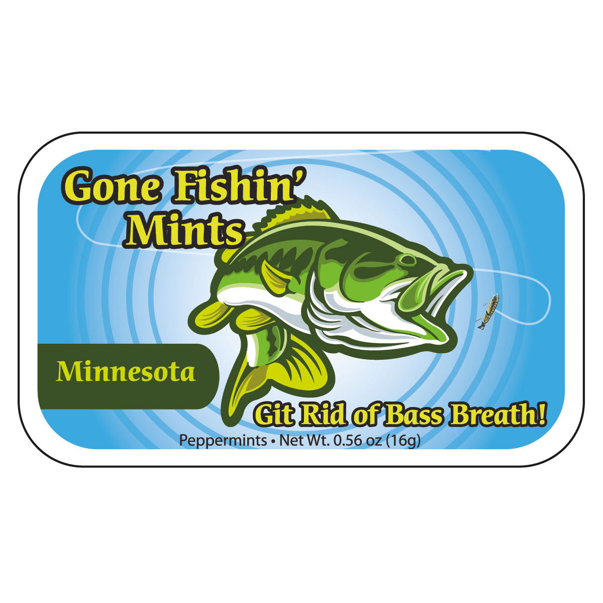 Gone Fishin' Minnesota - 0109S