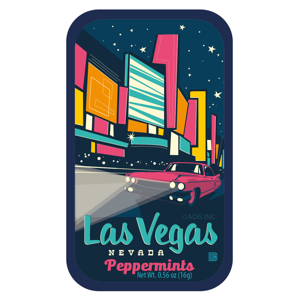 Deco Las Vegas - 0125A | AmuseMints Sweets and Snacks - USA-Made ...