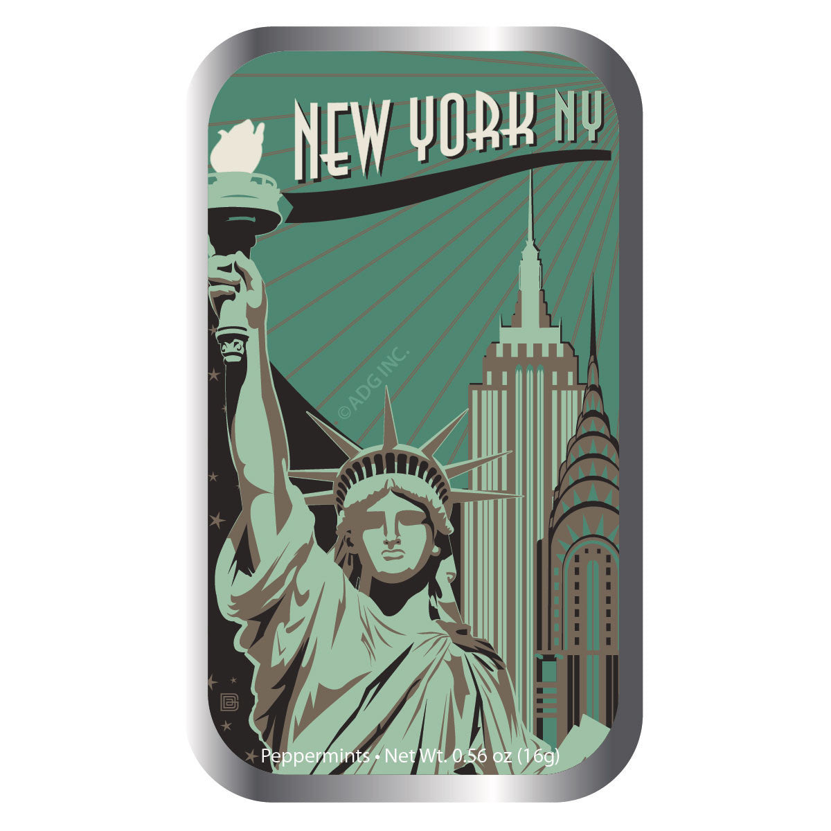Green Lady Liberty - 0134A