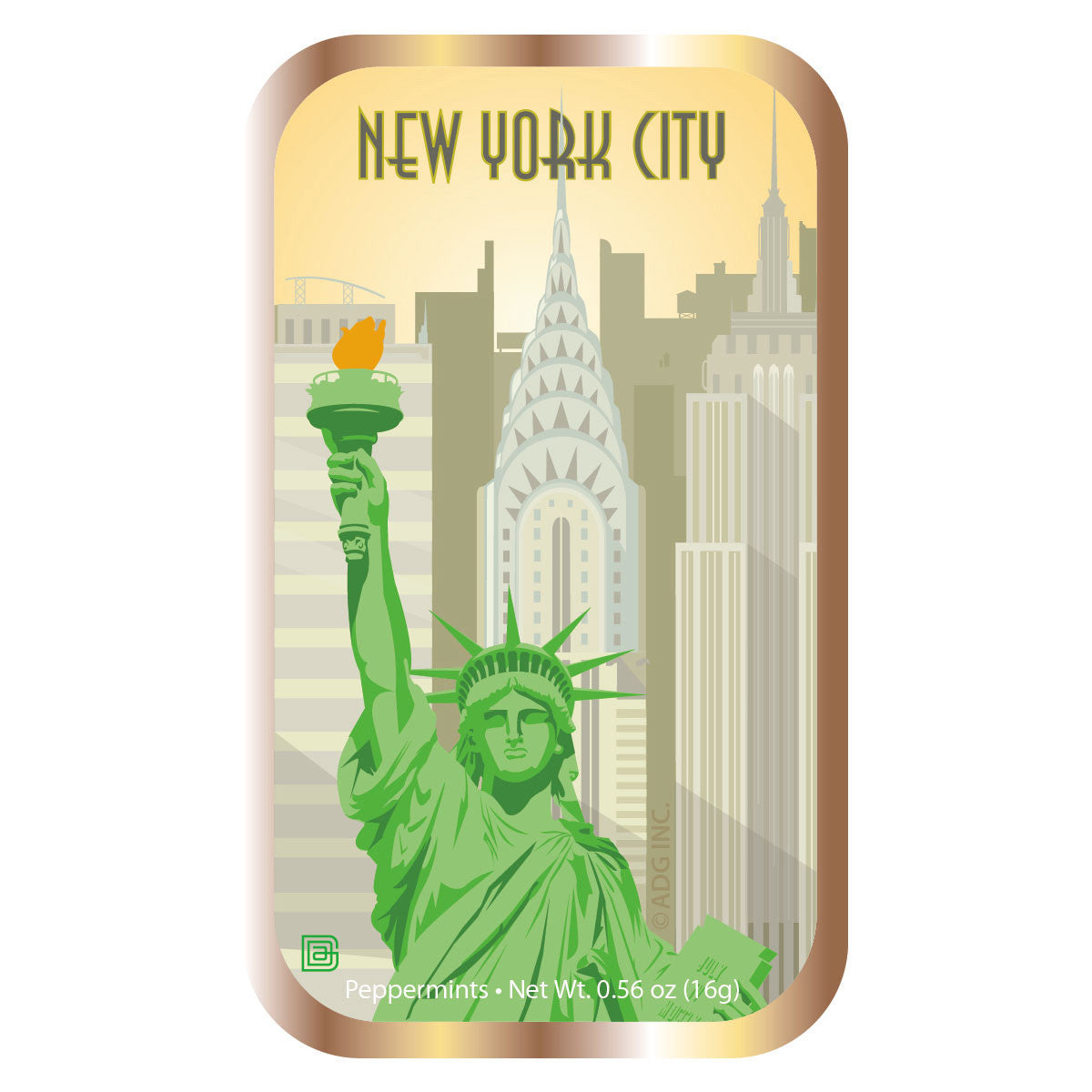 Lady Liberty City - 0135A