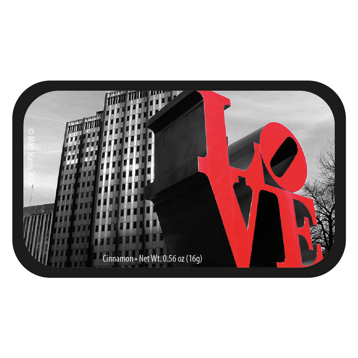 Love Park Buildings - 0145S