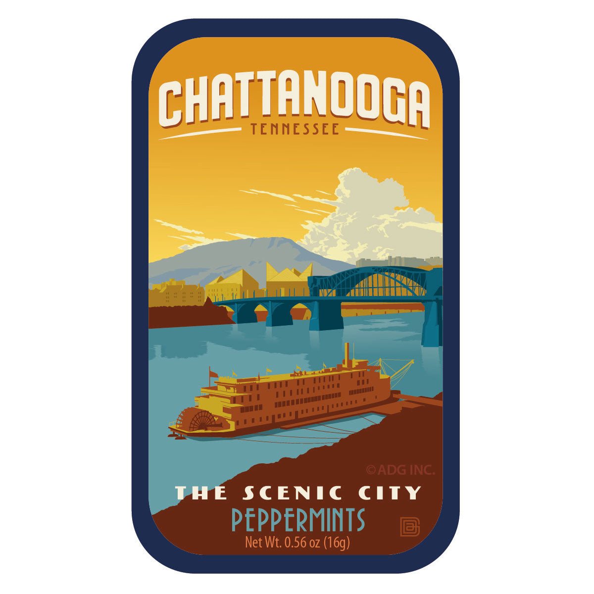Chattanooga Tennessee - 0157A