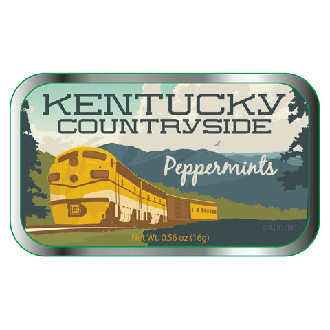 Mountain Train Kentucky - 0158A