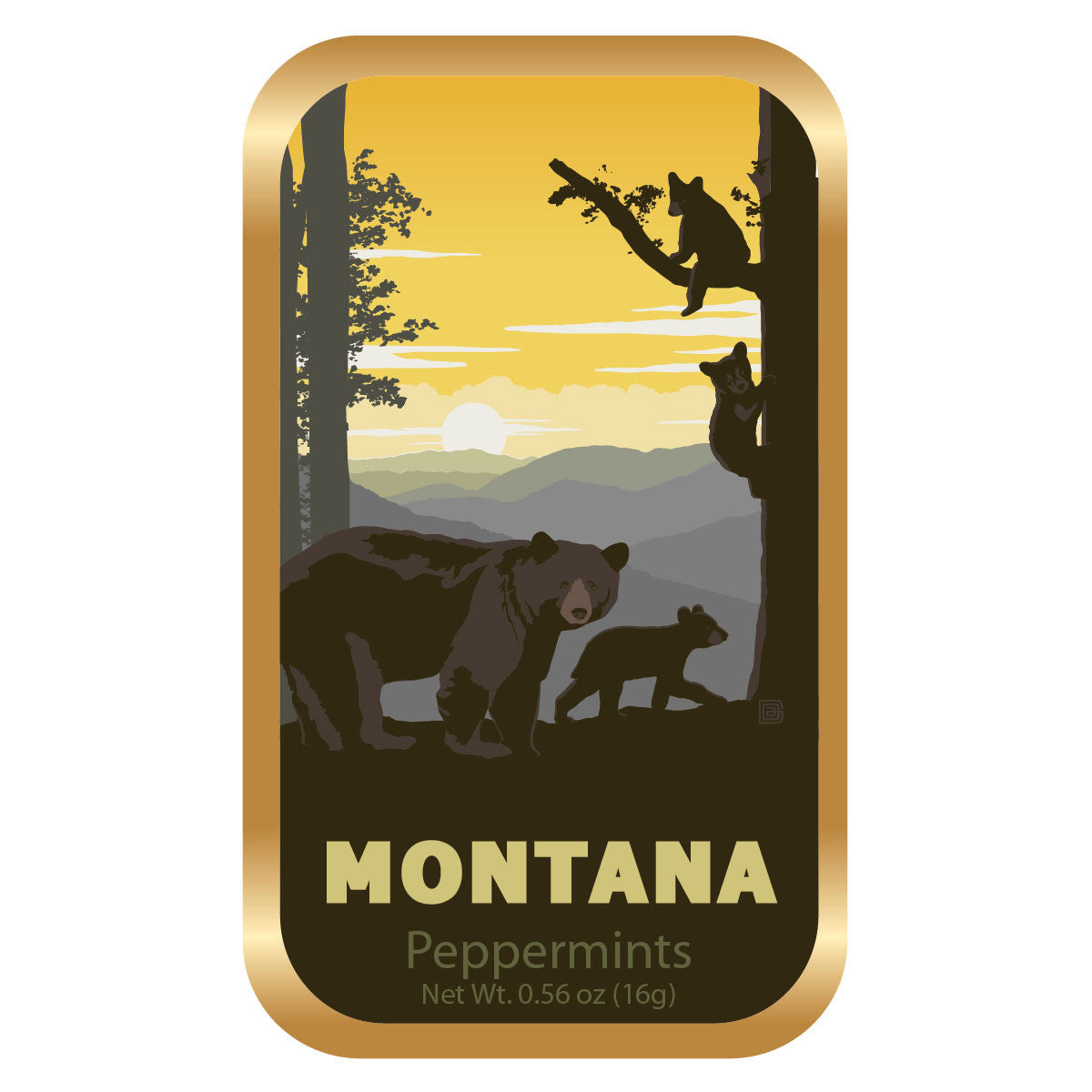 Bears by Trees Montana - 0160A