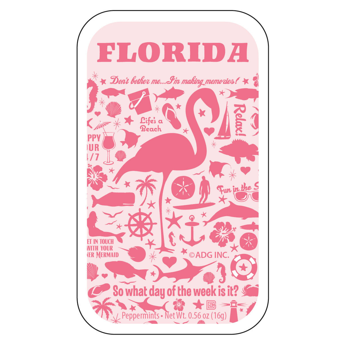 Flamingo Pattern Florida - 0206A