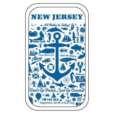 Anchor Pattern New Jersey - 0207A