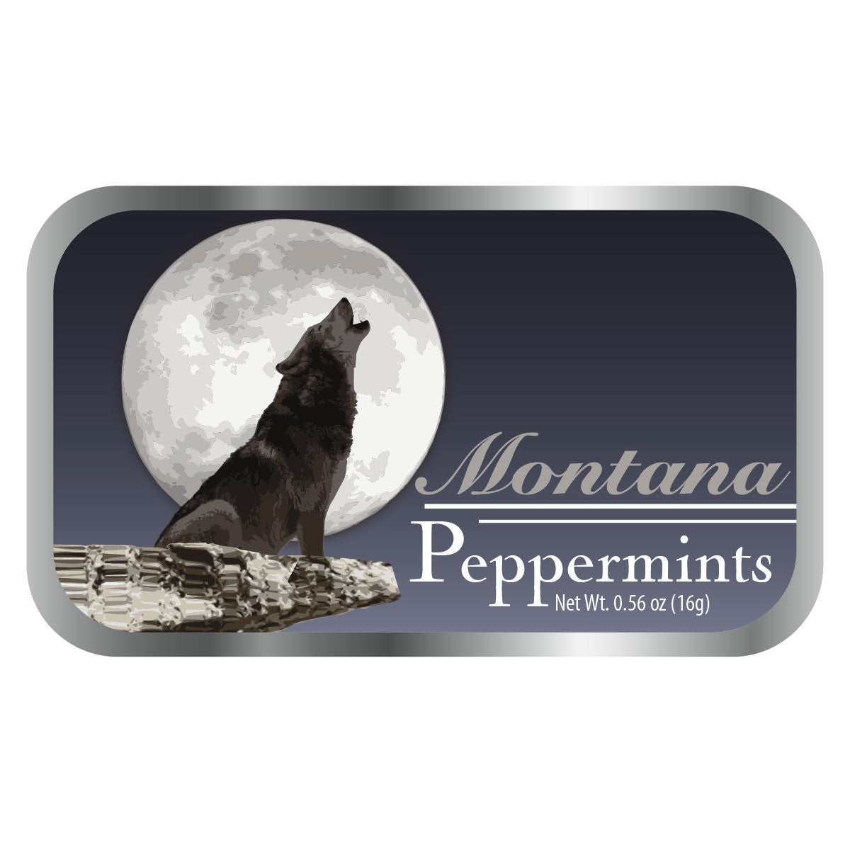 Howling Wolf Montana - 0245S