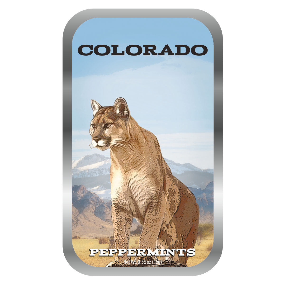 Mountain Lion Colorado - 0266S