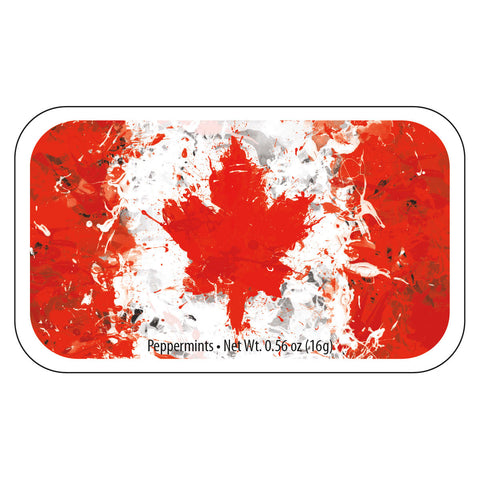 Canada Painted Flag - 0279S
