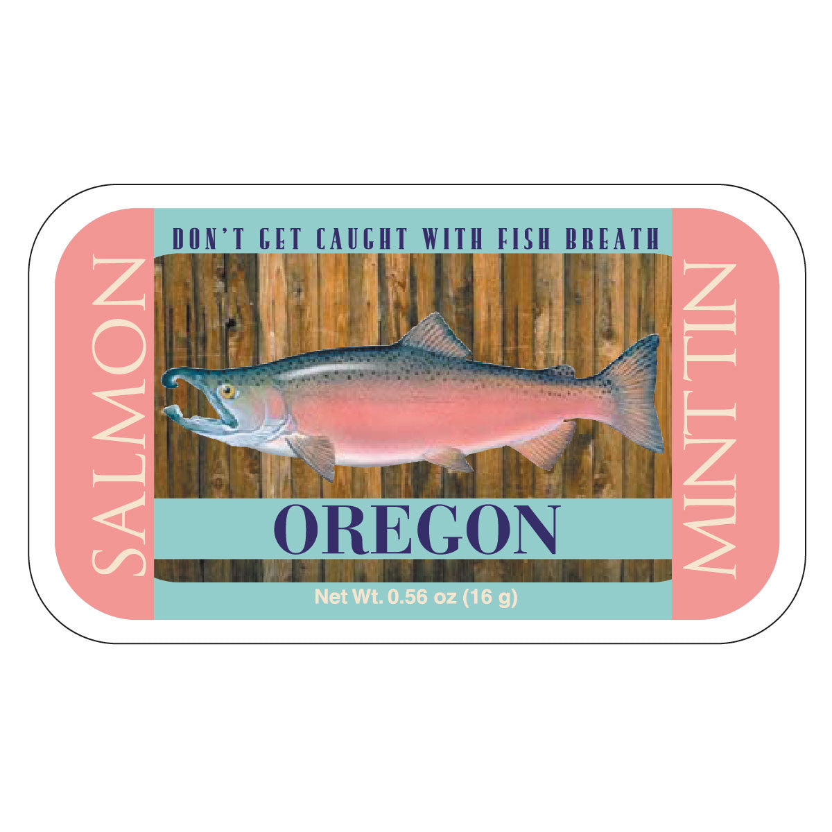 Salmon Woodgrain Oregon - 0284S