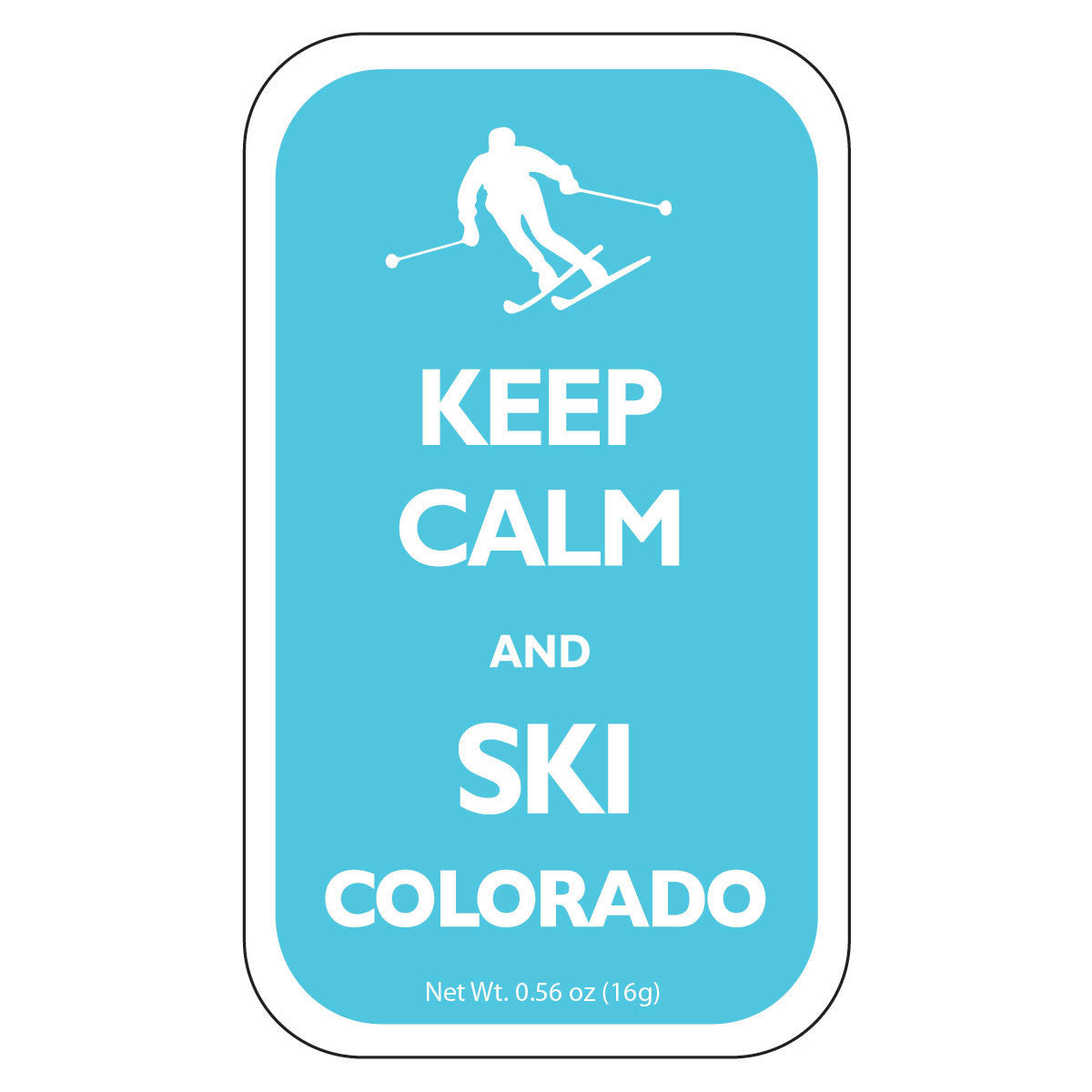 Keep Calm Ski Colorado - 0336S