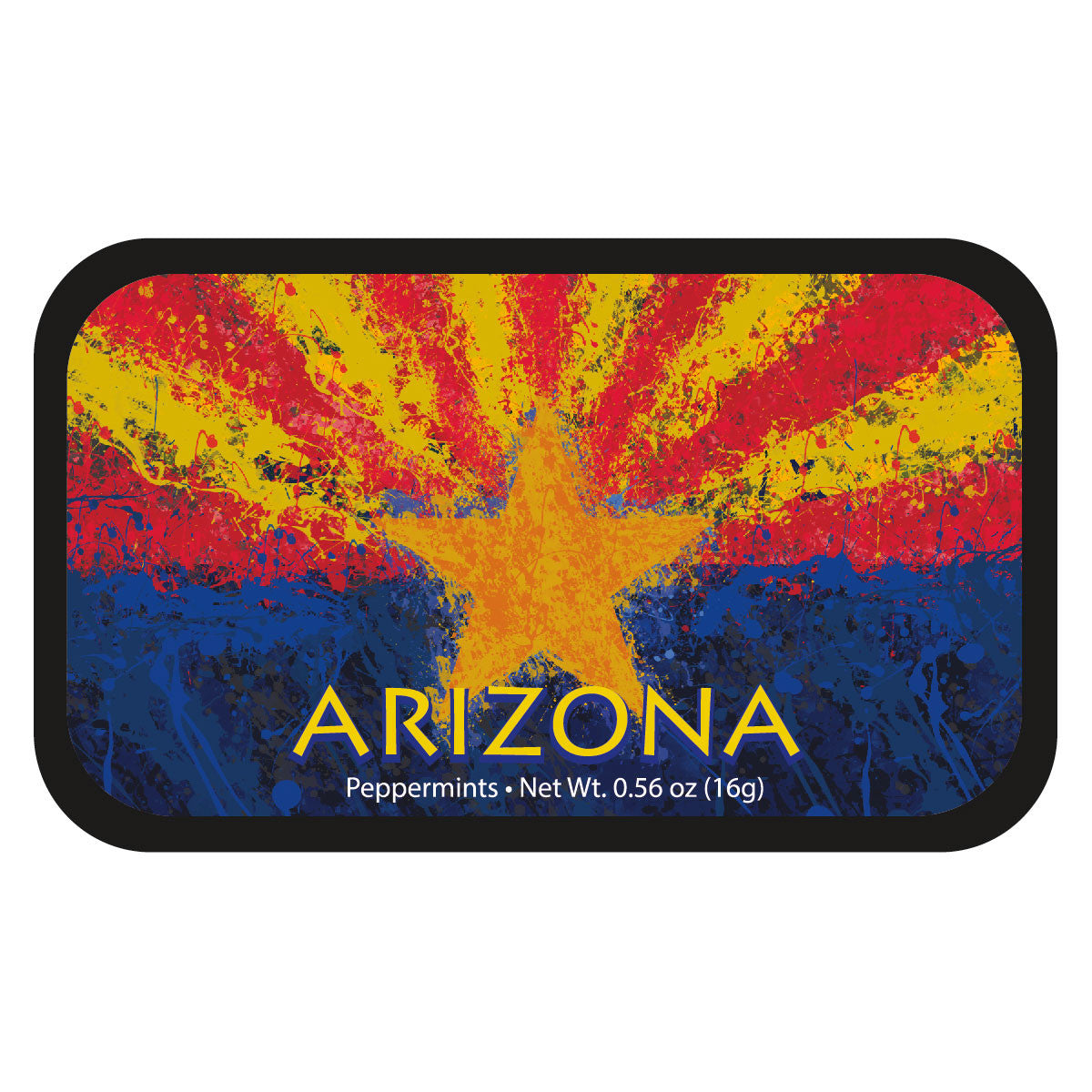 Arizona Painted Flag - 0349S