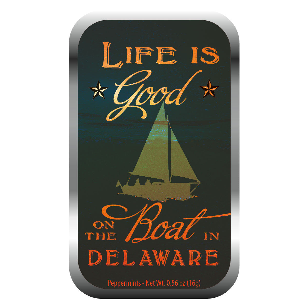 Life is Good Sailboat Delaware - 0352S