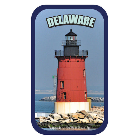 Red Lighthouse Delaware - 0354S