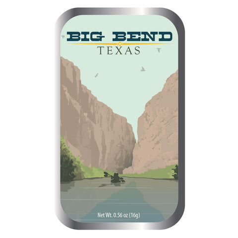 Big Bend Kayaker - 0369S