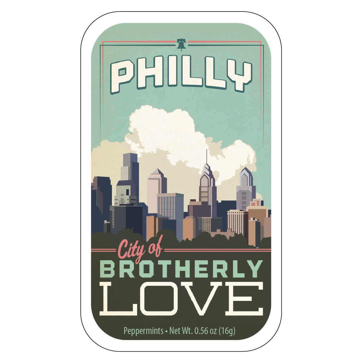 Philly Skyline - 0374S