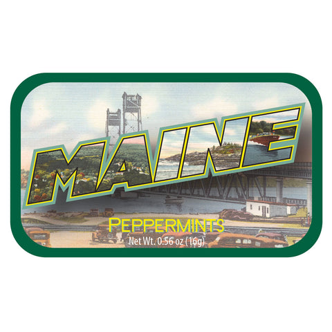 Maine Letters - 0485S
