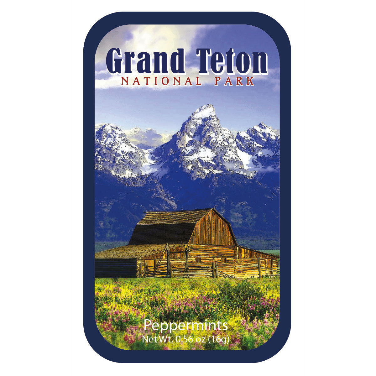 Grand Tetons Barn - 0525S