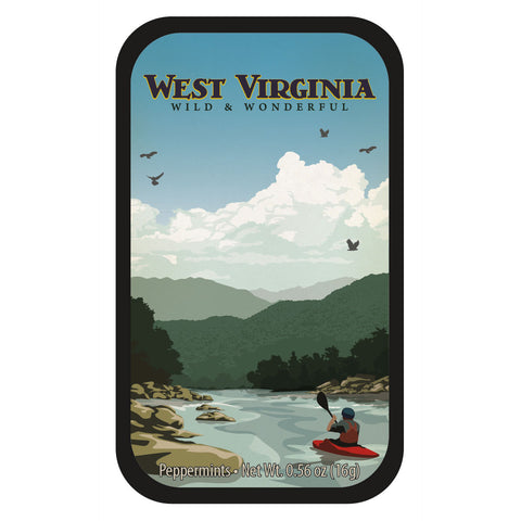 Mountain Kayaker West Virginia - 0554S