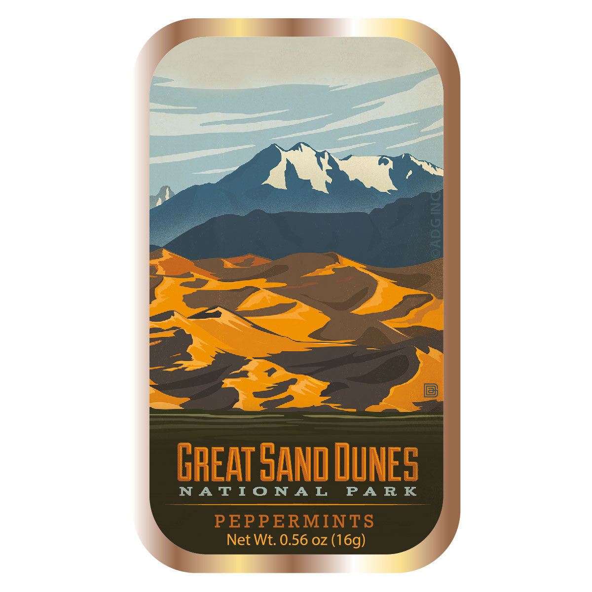 Great Sand Dunes - 0555A