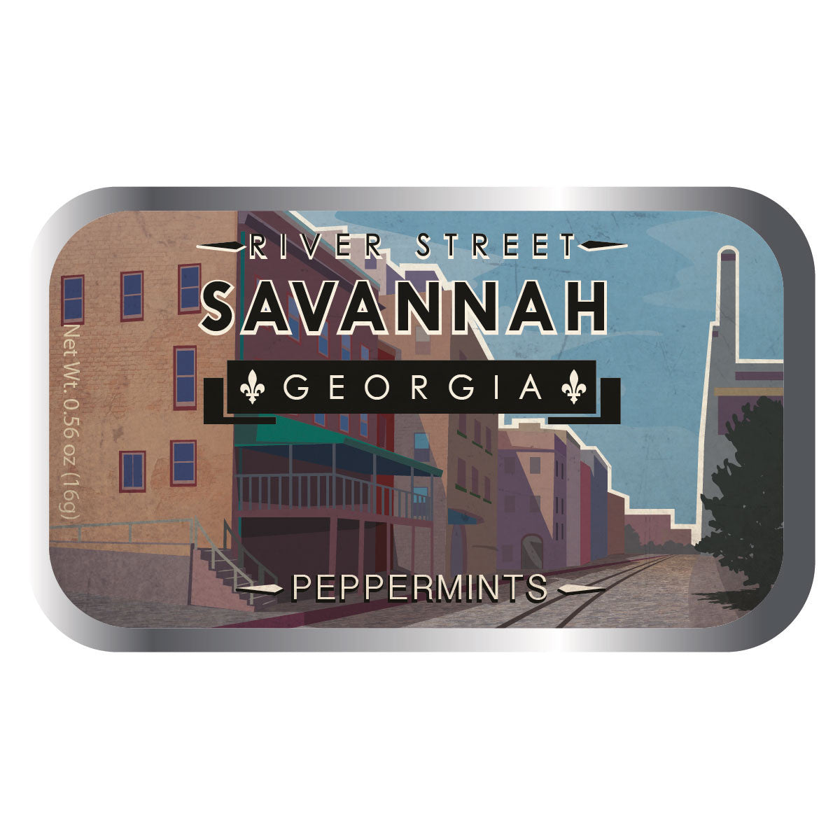River Street Savannah - 0579S
