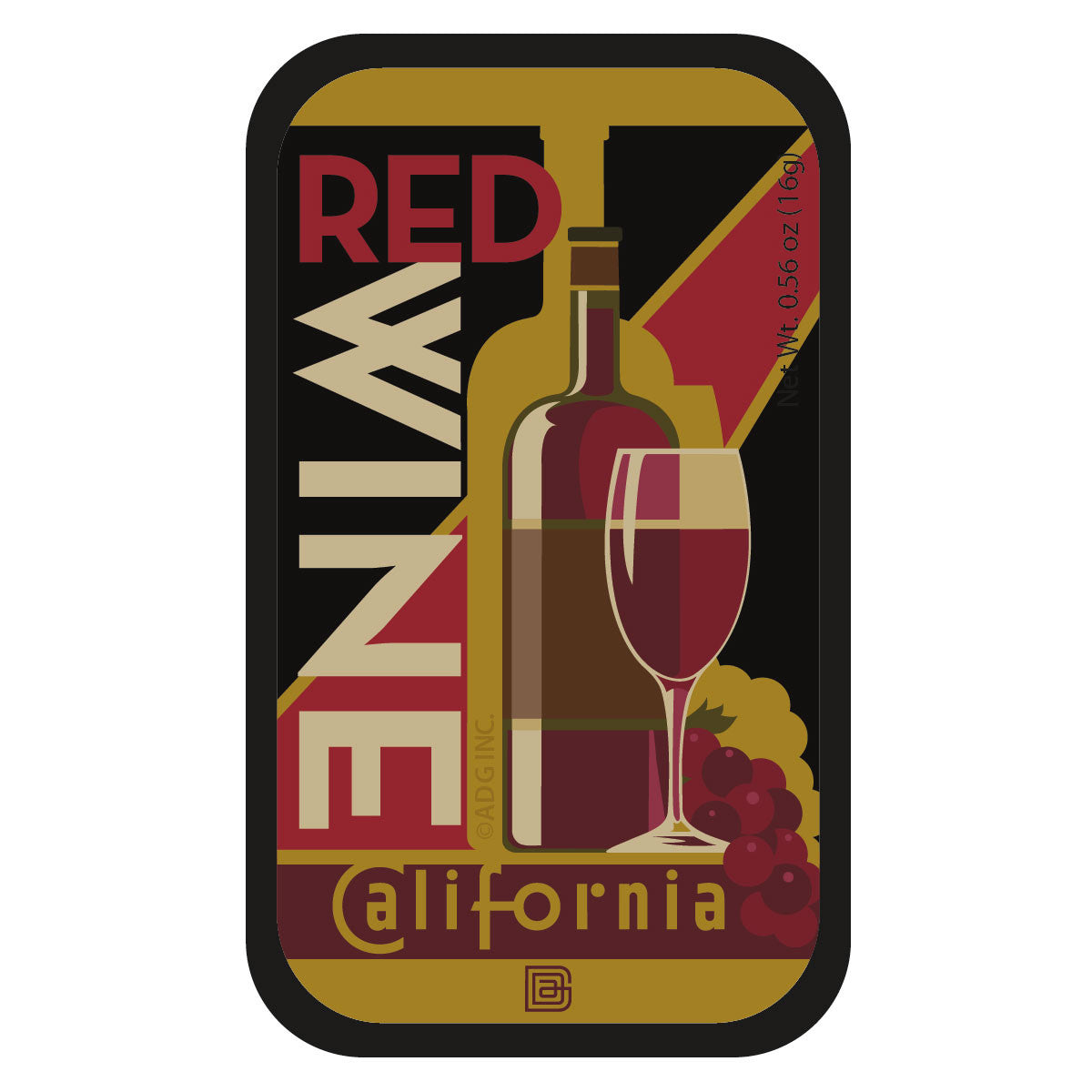 Red Wine California - 0611A