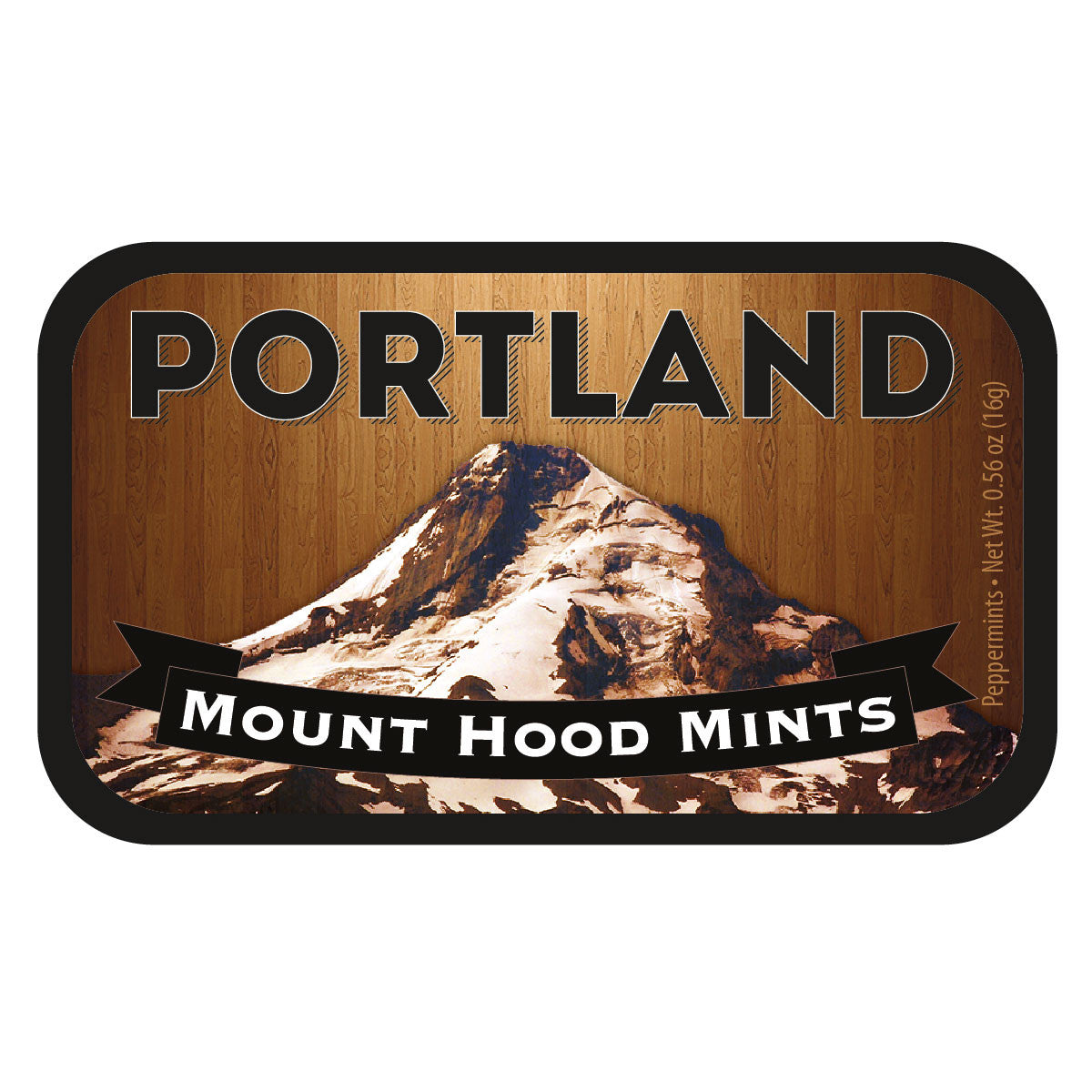 Mt Hood Woodgrain Oregon - 0626S