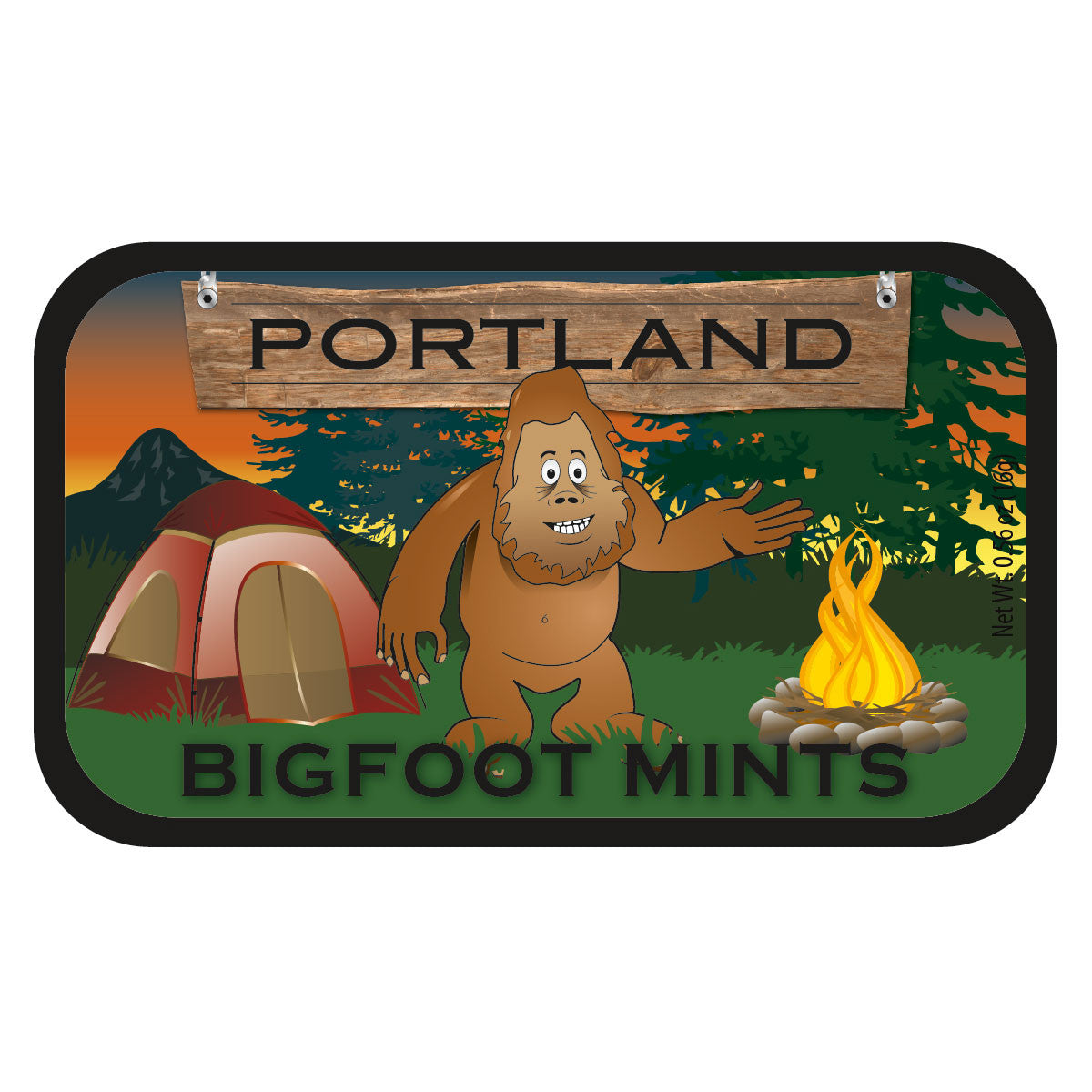 Bigfoot Mints Oregon - 0630S