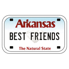 Arkansas Lic Plt - 0654ND