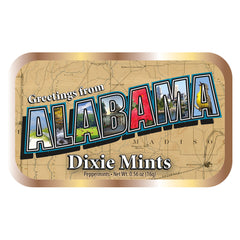 Alabama Map Letters - 0709S