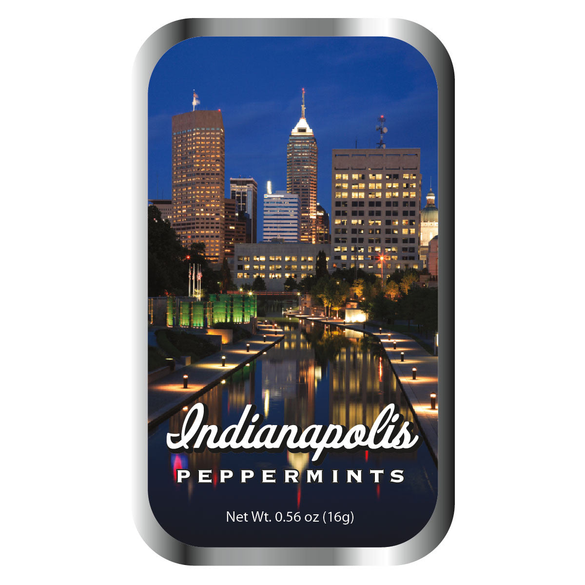 Indianapolis Night Sky - 0761S