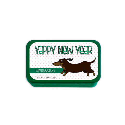 Yappy New Year Slyder Tin